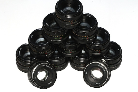 HELIOS 44M Soviet Lenses Zenit Praktica Pentax M42 - 12 pcs GOOD cond! q146