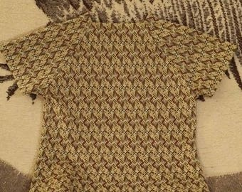 Women's patterned blouse