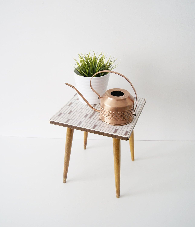 Flower stool 50s coffee table flower table