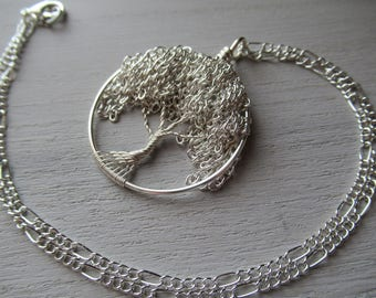 Weeping Willow tree of life pendant
