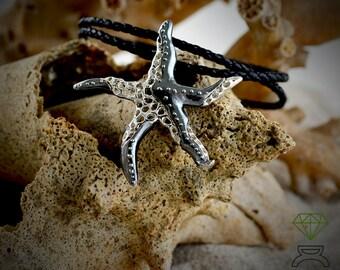 coral star, metamorphosis, pendant