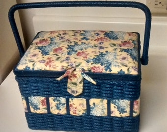 Vintage Sewing Basket & Plus