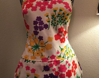 Women's XL vintage swim dress