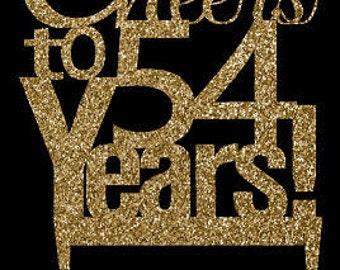 54th Anniversary Etsy