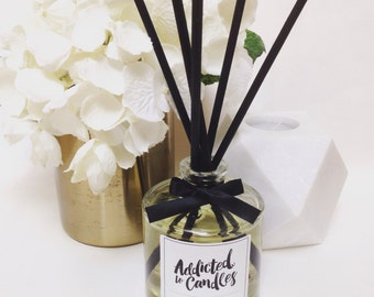 Lychee Peony Triple Scented 200ml  Reed Diffuser