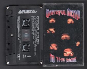 Vintage Cassette Tape : Cassette Tape - Grateful Dead - In The Dark - Arista - AC-8452