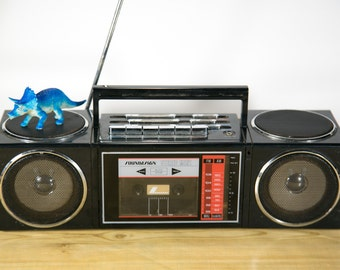 Rare Vintage Soundesign Mini Stereo Boombox Cassette Player #RAD5