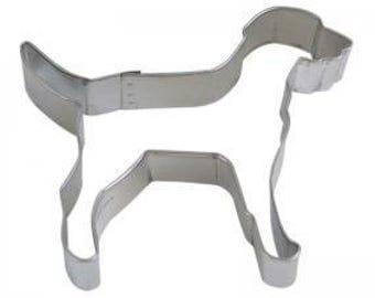 "Labrador 4"" Cookie Cutter - PINK Dog VS  Victorias Secret"