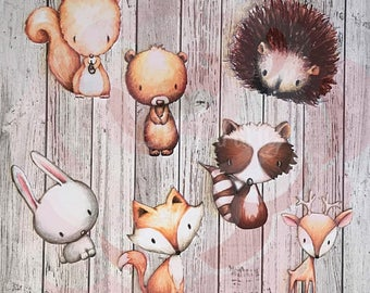 Woodland Critters Die Cuts