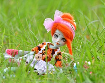 OOAK-Monster High-Repaint Puppe- Unikat