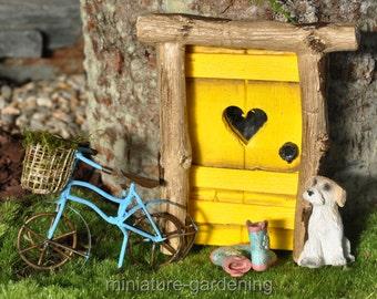 First Signs of Spring for Miniature Garden, Fairy Garden