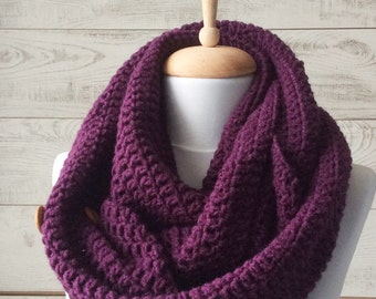 Scarf, infinity scarf,  Knit Scarf, wool knit scarf, chunky knit, scarf, women scarf, Many Colors
