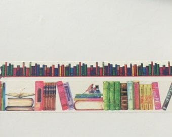 Washi Tape Samples - Books