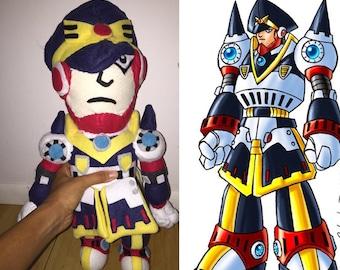 Colonel Megaman X Plush