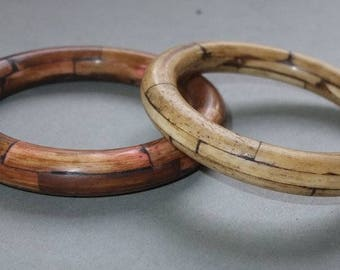 Two Bone Bracelets from Nepal, Ethnic Jewelry, FREE SHIPPNG