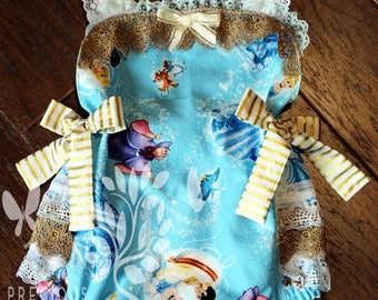 Baby Girls Frills and Lace Ruffled Bottom Cinderella Romper- Toddler Girls Bubble Romper- Sun Suit- Size 0-3m, 3-6m, 12-18m, 18-24m