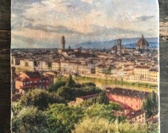Piazzale Michelangelo Florence Tile