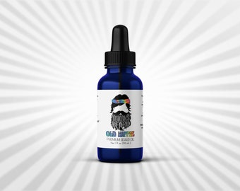Valentines Gift for Him - old hippie beard oil by yukons beard - nag champa incense - gift ideas for men - christmas gifts for boyfriend