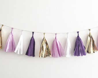 Purple tissue paper etsy for Purple and gold bathroom set