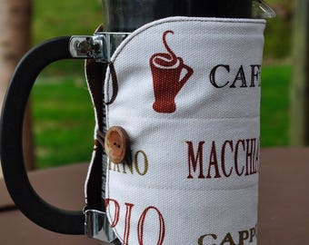 French Press Coffee Pot Cozy