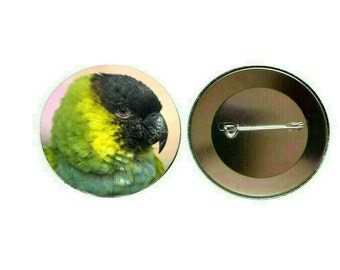 Nanday Conure 55mm Button Pin Badge (PG-0763)