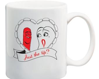 Sausage Party Movie Just the Tip Mug