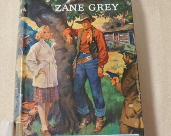 Majesty's Rancho Zane Grey novel Vintage book Antique book Collectible book 1930s book American West novel Gift for readers Gift for writers