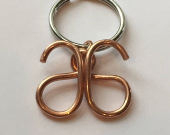 Arbonne Copper Keychain