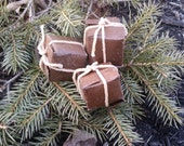 Firestarters - All natural, handmade, eco-friendly, Qty: 10 in a box, fire starters, camping, bbq, man gift,
