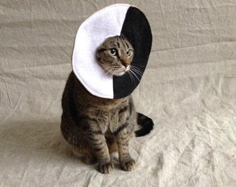 Black and White Cookie Costume for Cats
