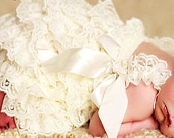 SALE!!!!---Newborn Baby lace rompers, lace romper