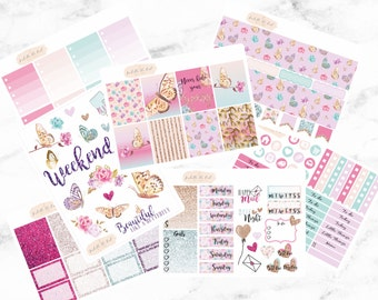 Happy Planner Flutter By Butterfly Deluxe Weekly Kit
