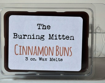 Cinnamon Buns 3 oz. Wax Melts - CLEARANCE