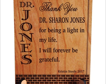 Professor Personalized Gift, Mentor Appreciation Gift, Gift for Teacher, Teacher Gift, Student to Mentor Gift, Gift for Lecturer PLT023