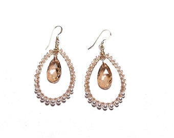 BABY GRETCHEN EARRING * golden and pearl