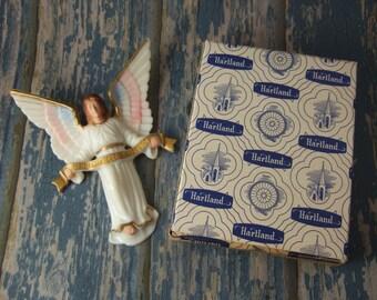 "GLORIA ANGEL 5"" Hartland Plastics for Christmas Nativity figure statue in orginal box vintage"