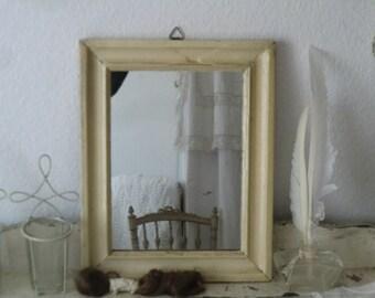 Vintage mirror of shabby patina