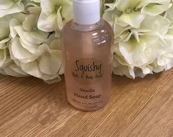 Vanilla Liquid Hand Soap - 8 oz
