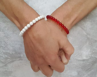 Custom Friendship Bracelets - Best Friend Bracelet - BFF School Spirit Gift