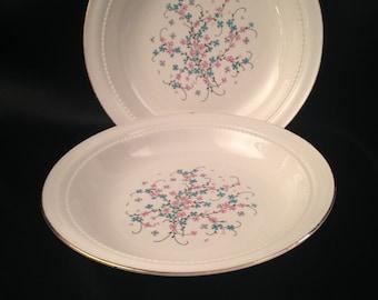Eastern China N.Y. USA 22K/Vintage Eastern China Pink Blue Floral Design/Eastern China EAN32/EAN32 by Eastern China