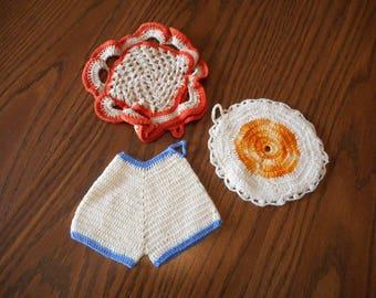 Handmade Crochet Trivet / Hotpads - Your choice
