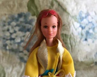 Rock Flower Lilac Doll