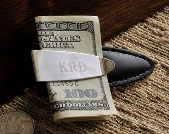 Personalized Money Clip - Arrowhead - Mens Money Clip Wallet Alternative - Engraved Silver Money Clip