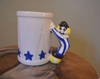 Vintage mug, Clown Circus