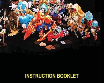 Ogre Battle manual