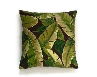 Outdoor decorative pillow cover ( Solarium Outdoor) Jungle forest