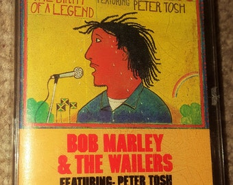 Bob Marley Cassette Tape. Bob Marley and the Wailers.
