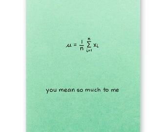 Math Graduation Thank You Card Secant to None Card Sec Pun