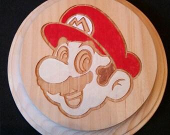 Mario (Super Mario Brothers) Wooden Wall Hanger