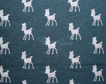 Sweat - navy melange dazzling deers